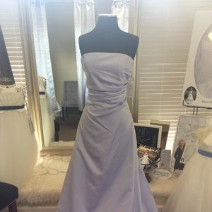 Dresses & Skirts - Lavender Satin Formal with matching Shawl